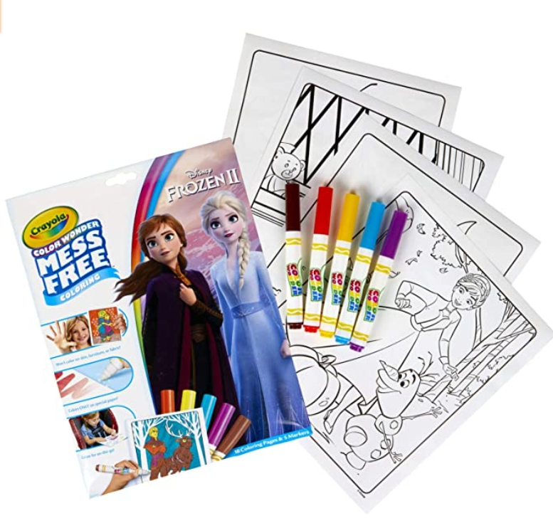 Crayola Color Wonder Frozen Coloring Book & Markers for $3 ...